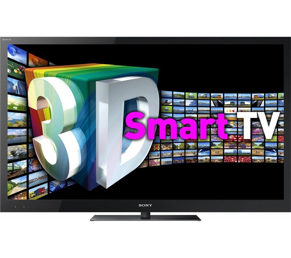sony bravia kdl 46hx923 full hd 46 3d led smart tv with freeview hd 200hz black ebay. Black Bedroom Furniture Sets. Home Design Ideas