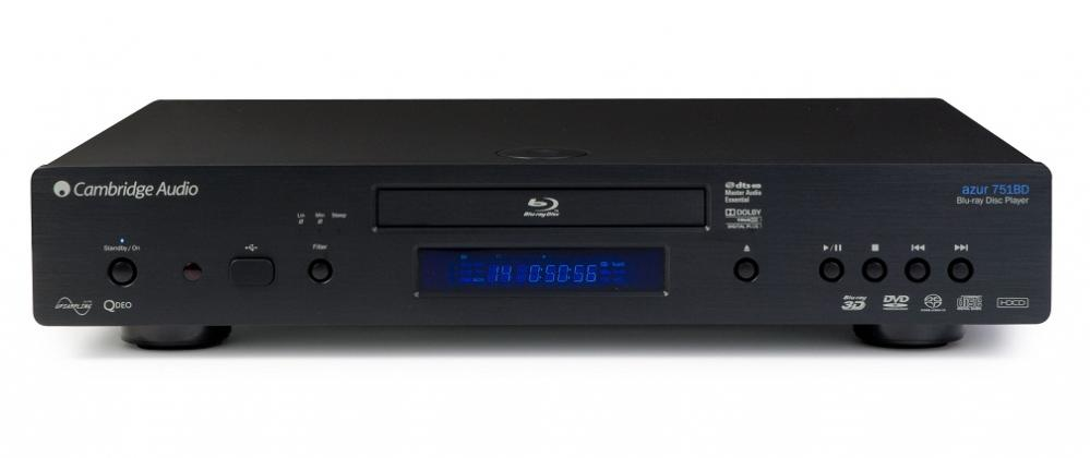 Cambridge Audio Azur 751BD 3D Blu-Ray Player with 1080p Upscaling Enlarged Preview