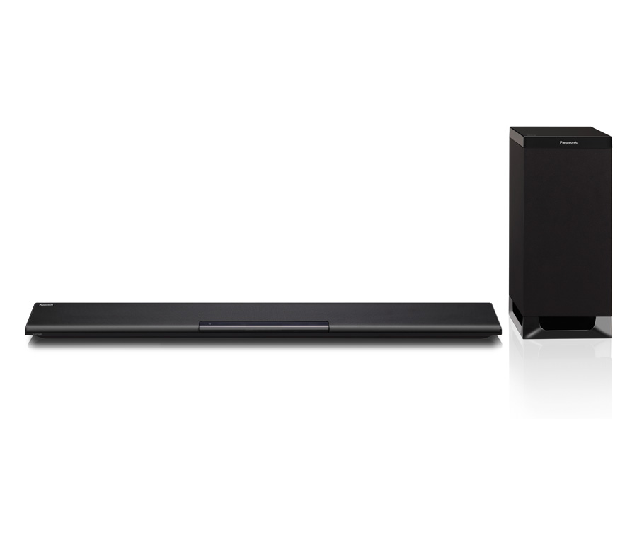 panasonic sc htb480 soundbar black home cinema wireless. Black Bedroom Furniture Sets. Home Design Ideas