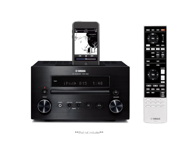 yamaha crx 550 mini sound system built in ipod dock ebay