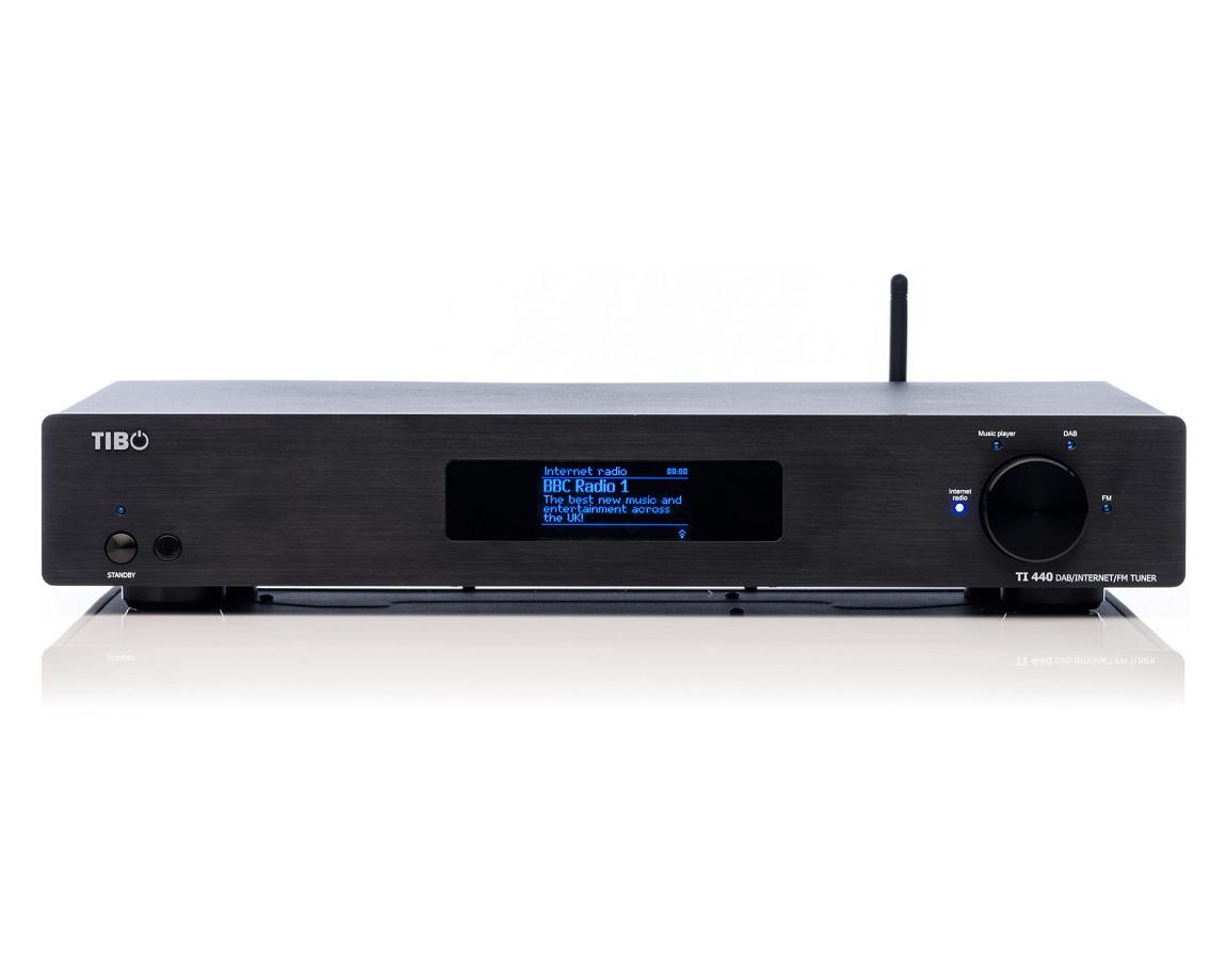 Tibo TI440 Network Streamer Internet DAB FM Radio Tuner ...
