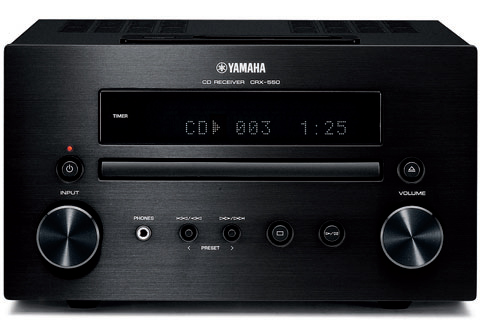 yamaha crx 550 black cd mini hi fi system with ipod dock. Black Bedroom Furniture Sets. Home Design Ideas