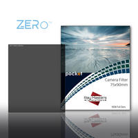 Ray Masters Zero ND 8 Filter Neutral Density Full Solid Pocket 75 x 90mm