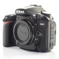 Nikon D90 Digital 12.1MP SLR Camera with Charger & 2 Batteries - Great Condition