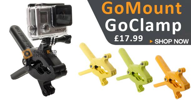 GoMount GoPro GoClamp