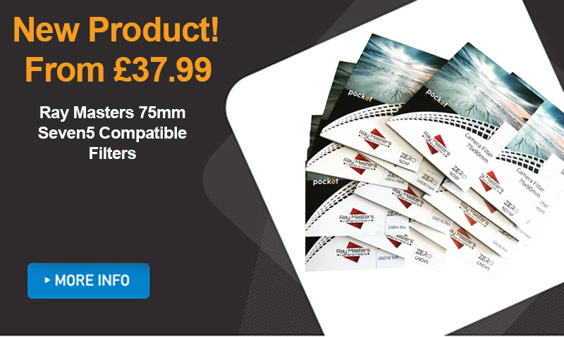 New Raymasters 75mm Filters