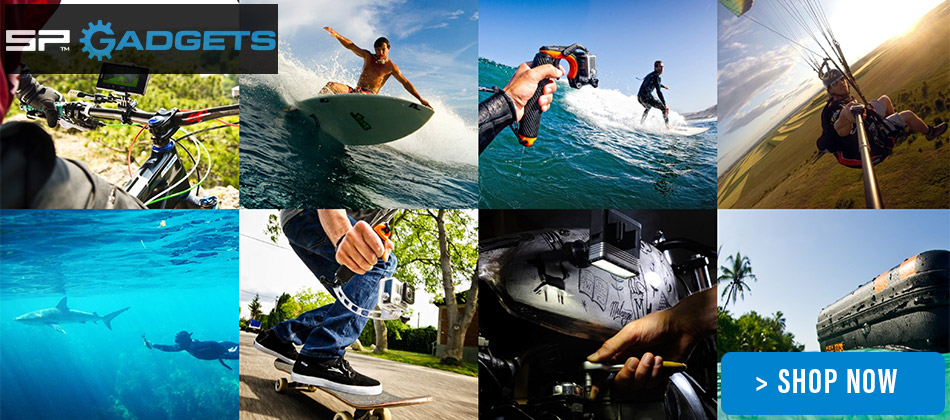 SP Gadgets Action Camera Accessories
