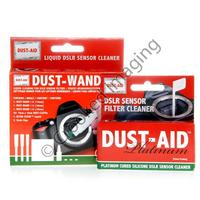 Dust-Aid Platinum & Wand Digital DSLR Camera Sensor Universal Cleaning Kit - UK