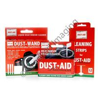 Dust-Aid Platinum + Wand & Strips Digital Camera Sensor Universal Cleaning Kit