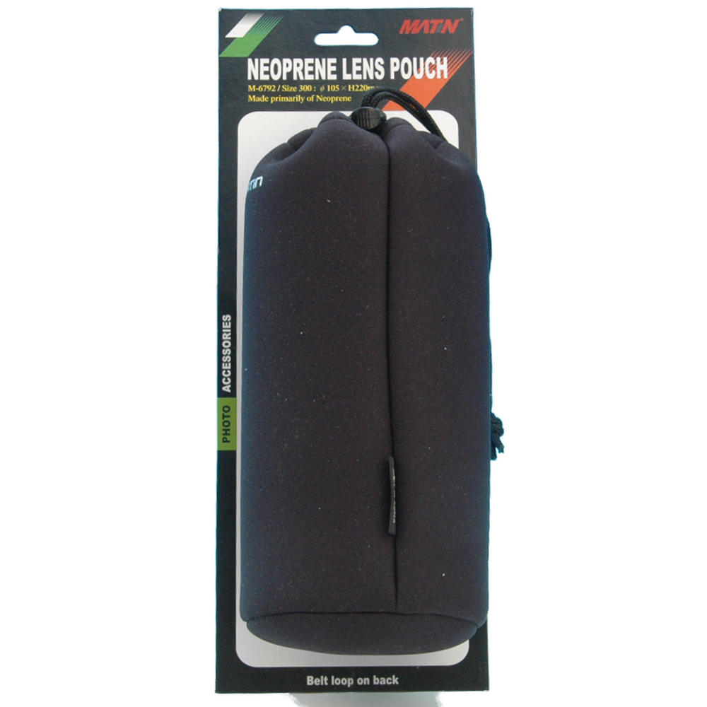 Matin Neoprene Camera Lens Pouch / Case / Bag - Size 300 - Extra Large - UK