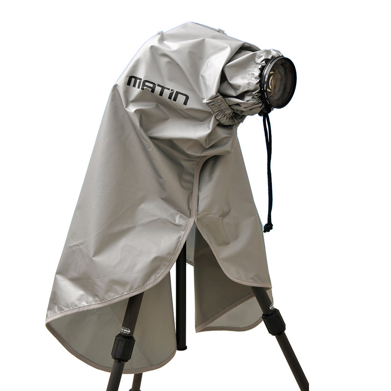 Matin RainCape Digital SLR Camera & Lens Waterproof Rain Cover - Medium - UK