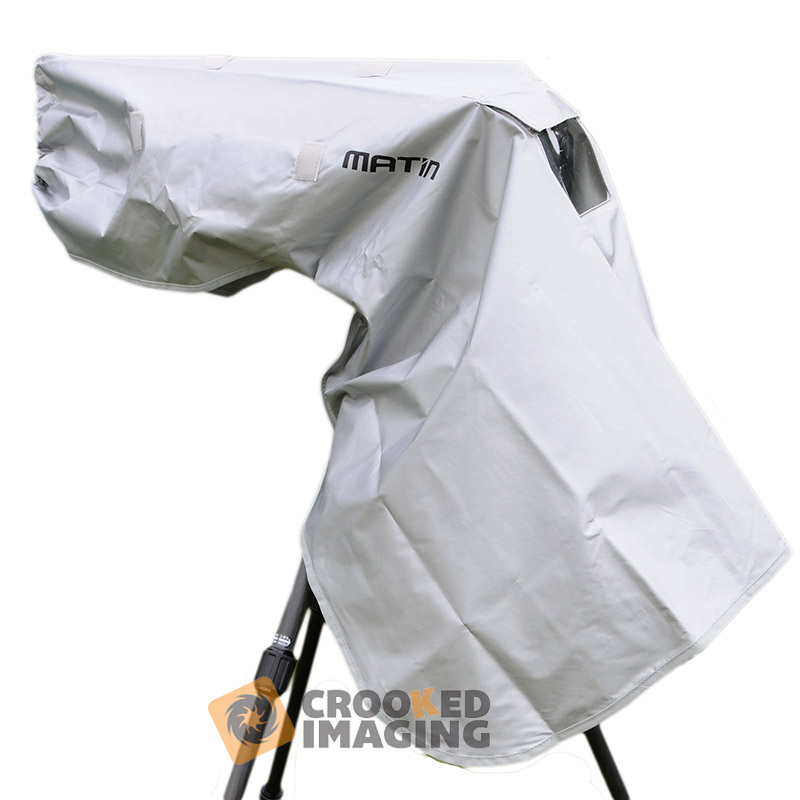 Matin RainCape Digital SLR Camera & Lens Waterproof Rain Cover - Large - UK