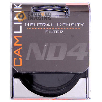 Camlink 58mm 58 ND4 2 Stop Neutral Density Digital Camera Lens Filter - UK Stock Preview