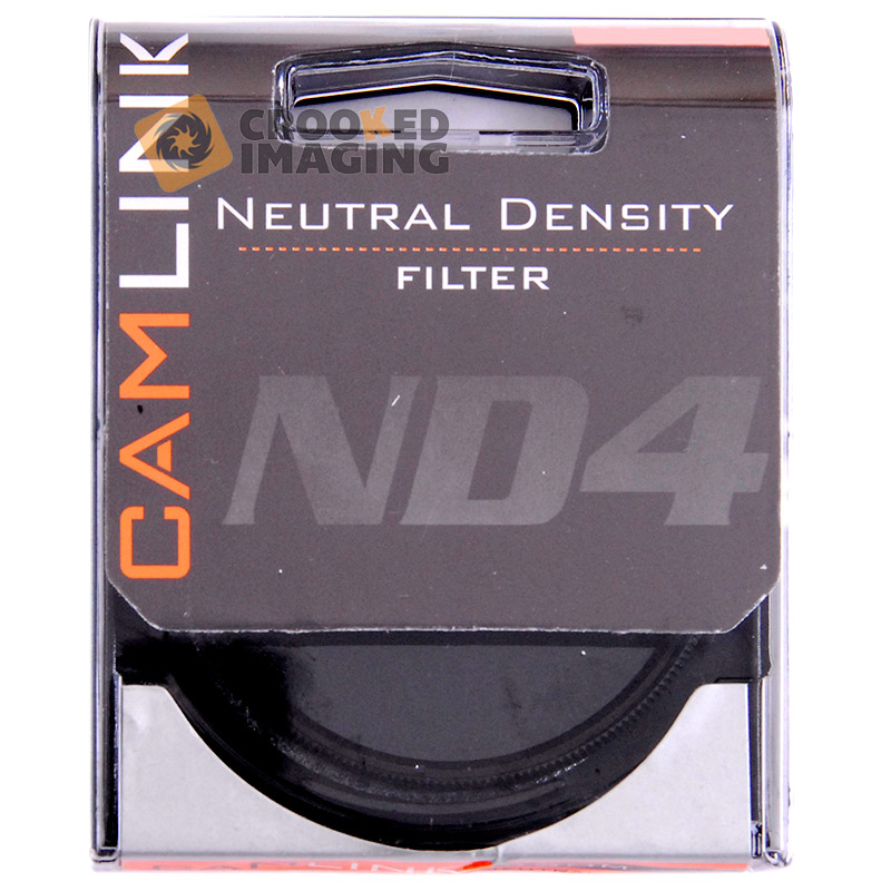 Camlink 77mm 77 ND4 2 Stop Neutral Density Digital Camera Lens Filter - UK Stock