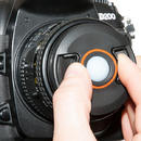 BRNO 72mm 72 baLens Centre Pinch Snap Cap / Custom White Balance WB Filter - UK Thumbnail 3