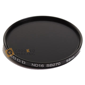 Kood 58mm 58 ND16 4 Stop ND Neutral Density Digital & Film Camera Lens Filter UK Preview