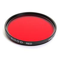 Kood Red 49mm 49 Black & White B&W Digital and Film Camera Lens Filter - UK