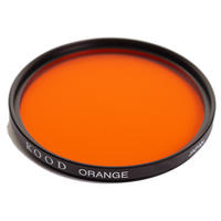 Kood Orange 77mm 77 Black & White B&W Digital and Film Camera Lens Filter - UK