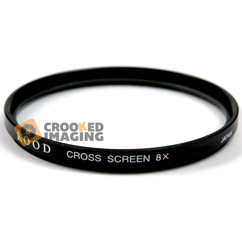 Kood 55mm 55 8x Star Cross Starburst Digital and Film Camera Lens Filter - UK