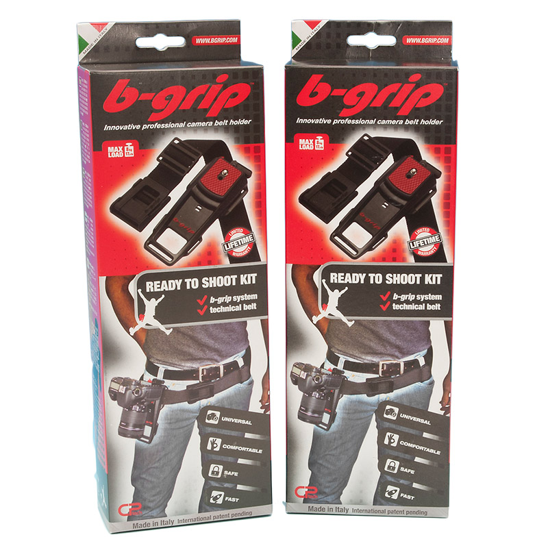 B-Grip Twin Evo Digital SLR Camera Belt Universal Support System - Quick Release