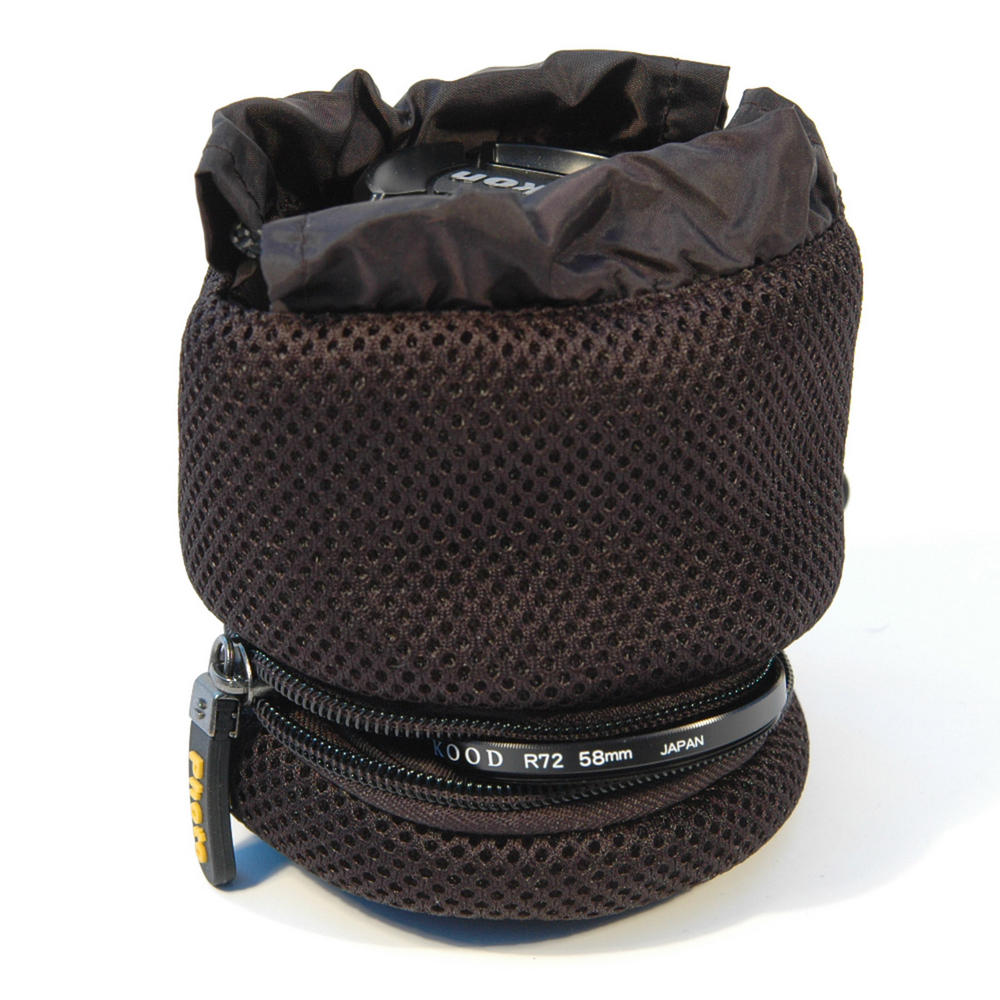 Kood Padded Camera Lens & Filter Pouch / Case - 70 x 70mm - Small - UK
