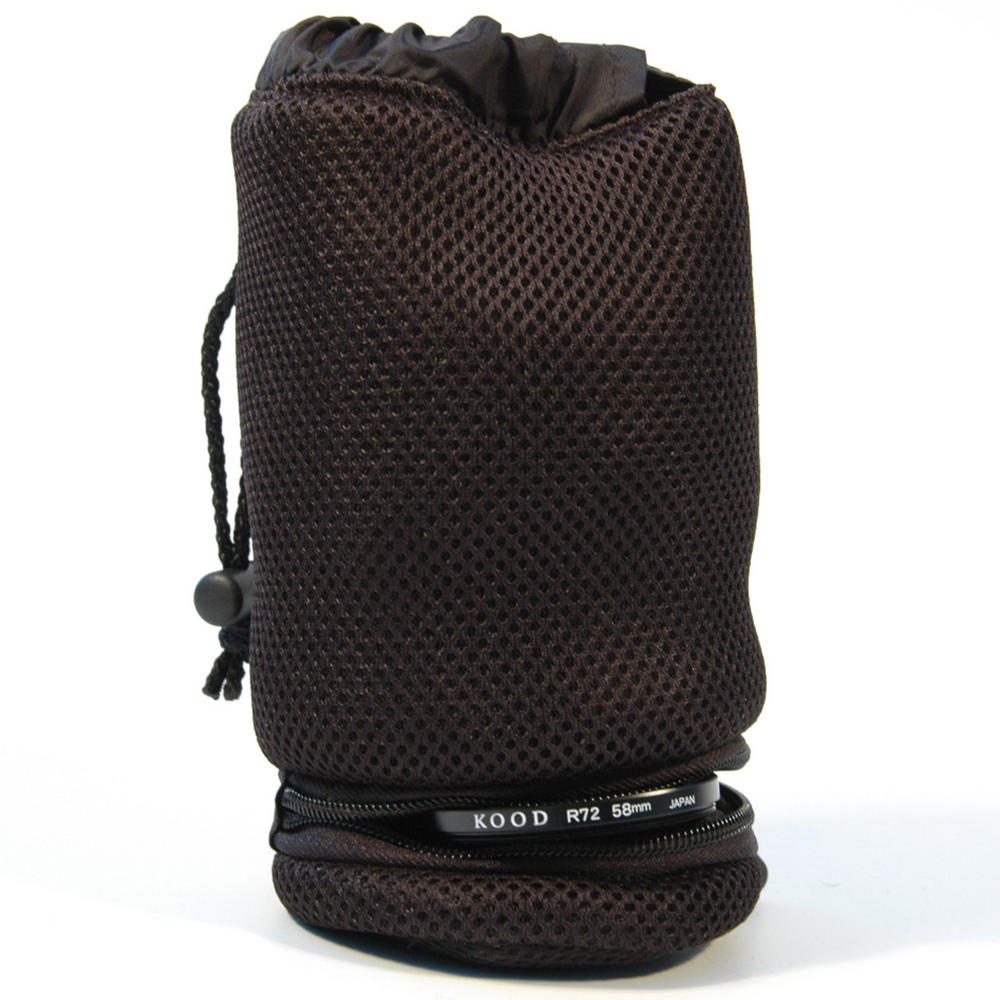 Kood Padded Camera Lens & Filter Pouch / Case - 80 x 170mm - Large - UK