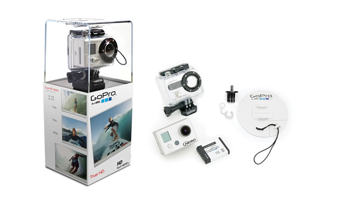 GoPro Go Pro HD Hero 1080p 5mp Action Sports Camera - Surf Edition - UK