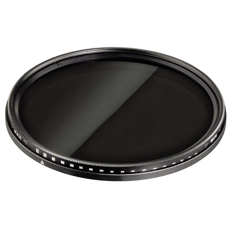 Hama 58mm 58 ND2-ND400 Vario ND Variable Neutral Density Camera Lens Filter