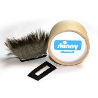 MicroMuff Skinny for Panasonic GH1 GH2 GF2 GF3 G3 Microphone Baffle - Micro Muff