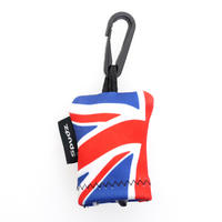 "SPUDZ 6"" x 6"" MicroFibre Camera Lens Cleaning Cleaner Cloth - Union Jack"