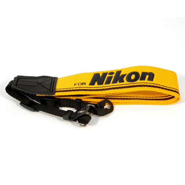 "Kood For Nikon Logo Digital / Film Camera Strap - 3/8"" Webbing - UK"