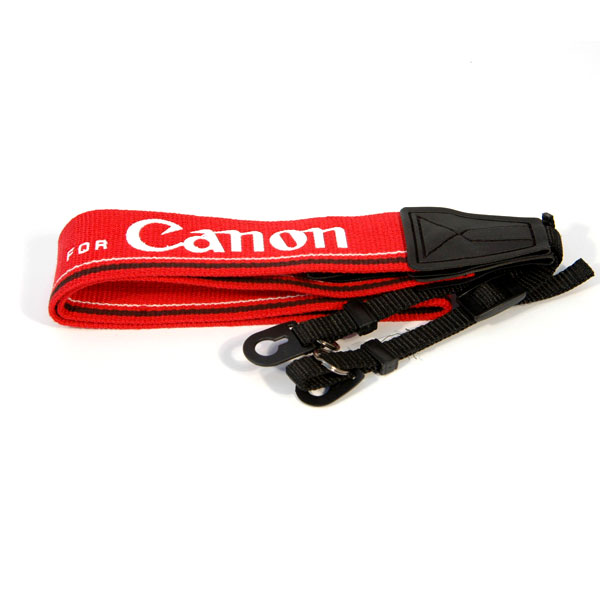 "Kood Canon Logo Digital / Film Camera Strap - 3/8"" Webbing - UK"