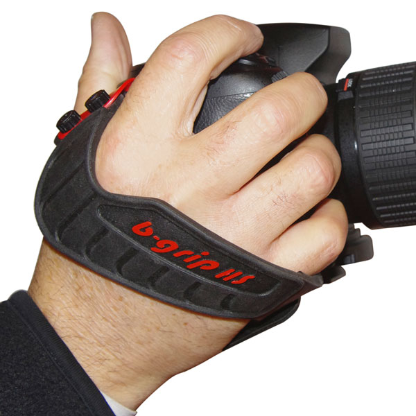 B-Grip Rubber HandStrap - DSLR Camera Hand Strap Grip - Use with B-Grip - UK