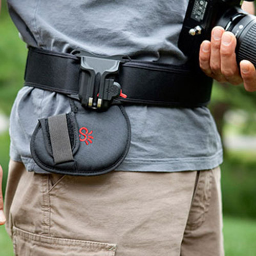 Spider Black Widow Camera Holster System Kit - Holster, Belt & Pad - UK