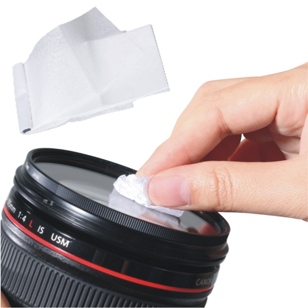 how to clean camera lens without lens cleaner