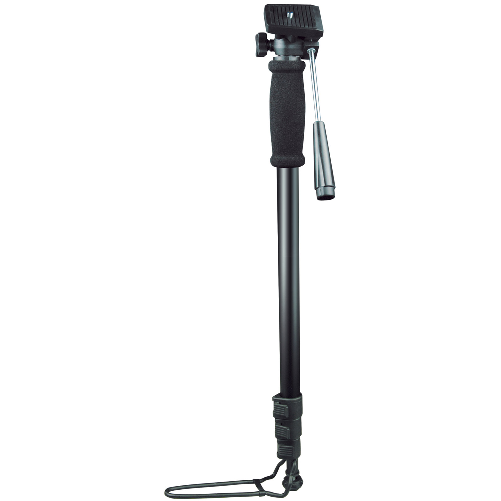 Digital & Film Camera MonoPod with Foot Rest - Mono Pod - 4 Section - UK