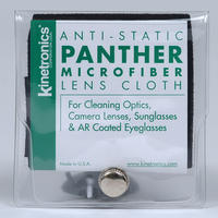 Kinetronics Panther Lens & Camera Cleaning Microfibre Cloth - 133 x 146mm - UK