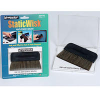 Kinetronics 100mm StaticWisk Anti-Static Cleaning Brush Cleaner - Static Wisk