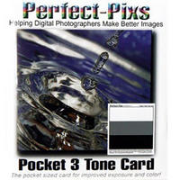 Perfect-Pixs 3 Tone Pocket Grey / White / Black Card - New UK