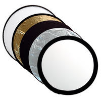 Kood 50cm 5 In 1 Photography Reflector Kit - Silver, Gold, White, Black & Diff