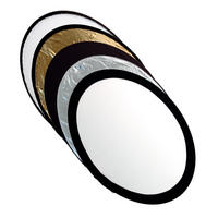 Kood 92x122cm 5 In 1 Photography Reflector Kit Silver, Gold, White, Black & Diff