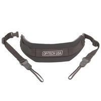 Op Tech Pro Loop Camera Strap DSLR Quick Release Neck - Black - Padded OpTech