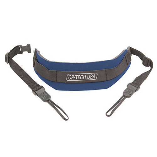 Op Tech Pro Loop Neoprene Camera Strap - Navy Blue - Weight Reduction - OpTech