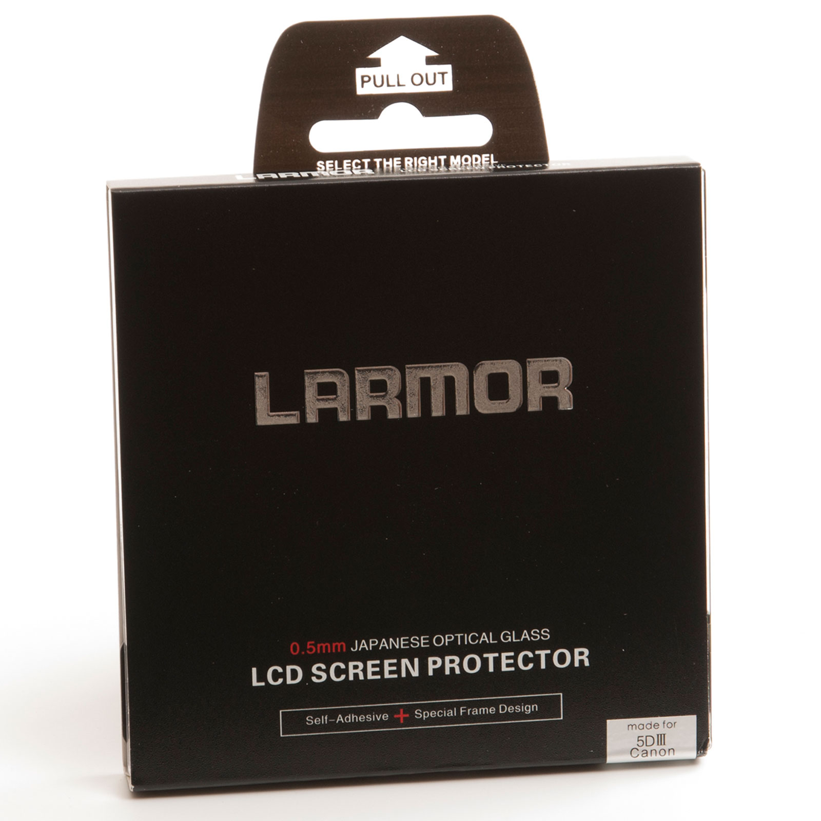 GGS Larmor Glass Screen Protector for Canon 5D MK III Camera - Self-Adhesive
