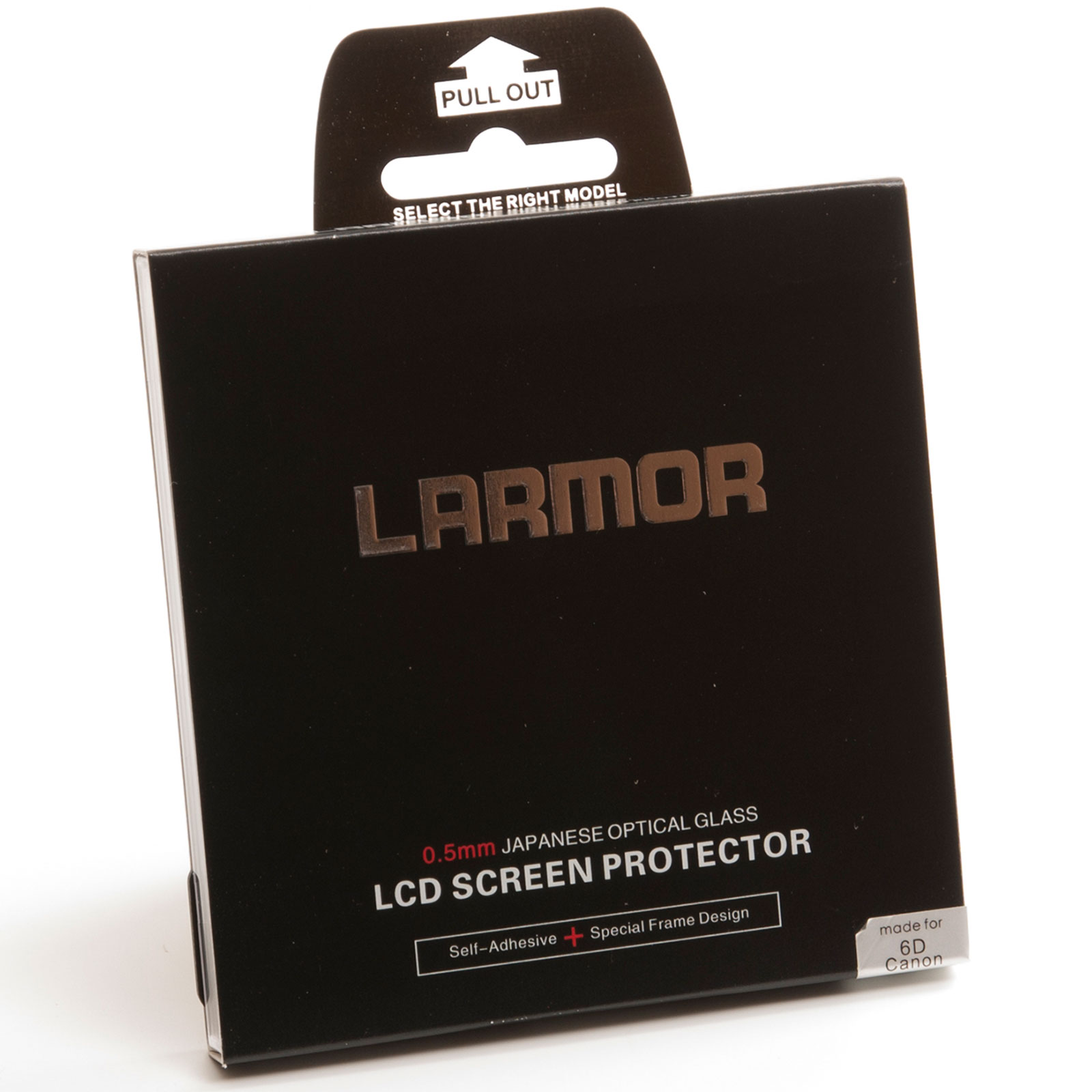GGS Larmor Glass Screen Protector for Canon 6D Camera - Self-Adhesive