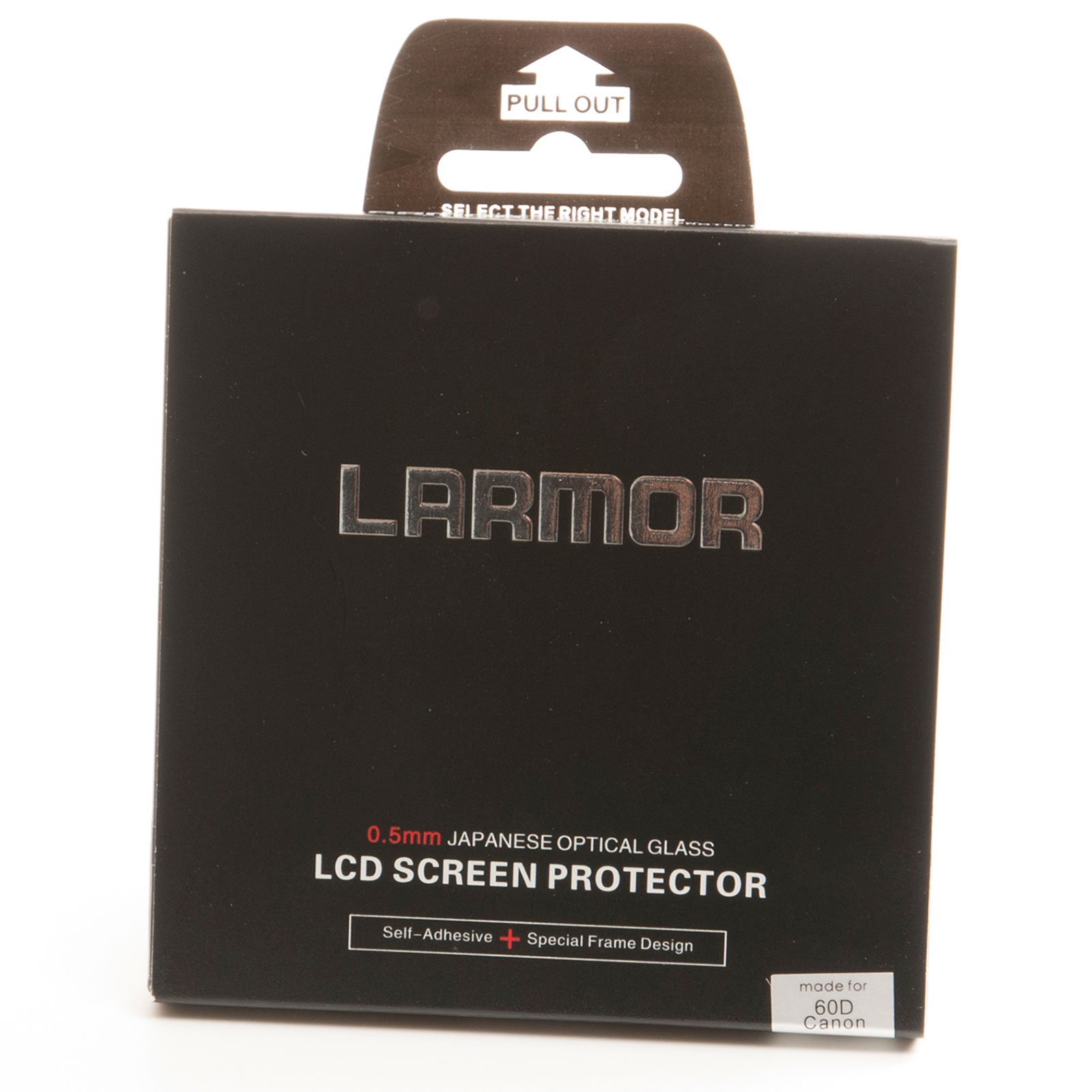 GGS Larmor Glass Screen Protector for Canon 60D Camera - Self-Adhesive