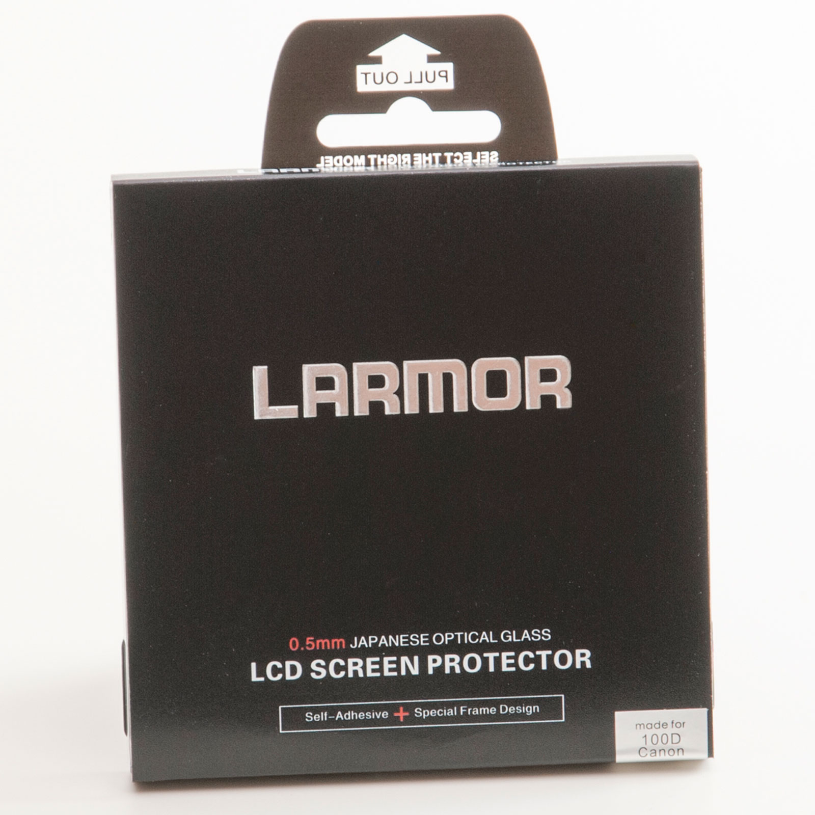 GGS Larmor Glass Screen Protector for Canon 100D Camera - Self-Adhesive