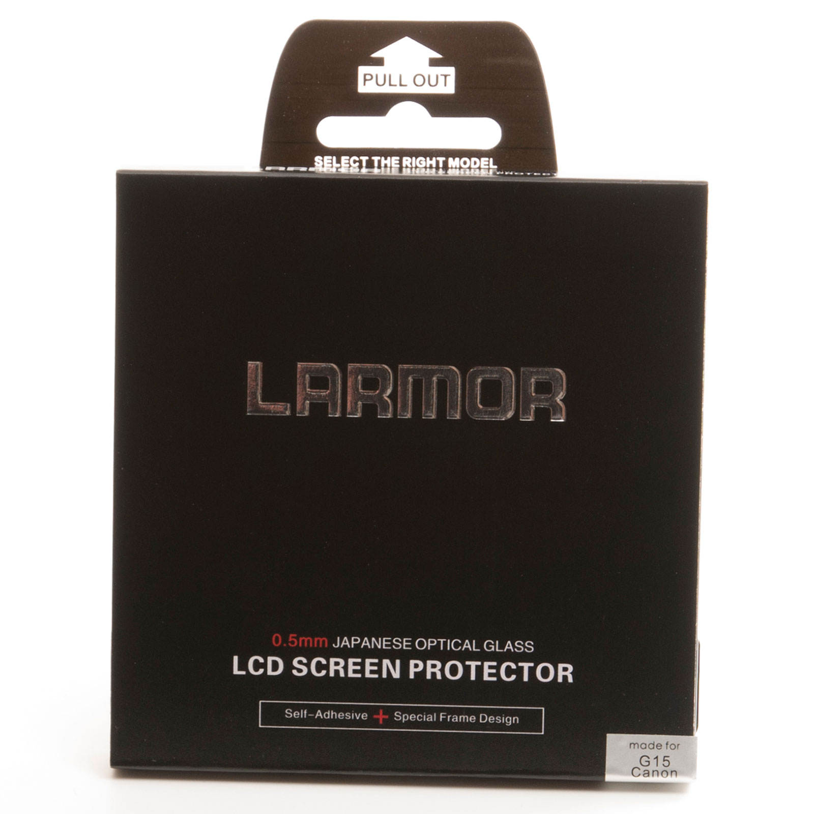 GGS Larmor Glass Screen Protector for Canon G15 Camera - Self-Adhesive