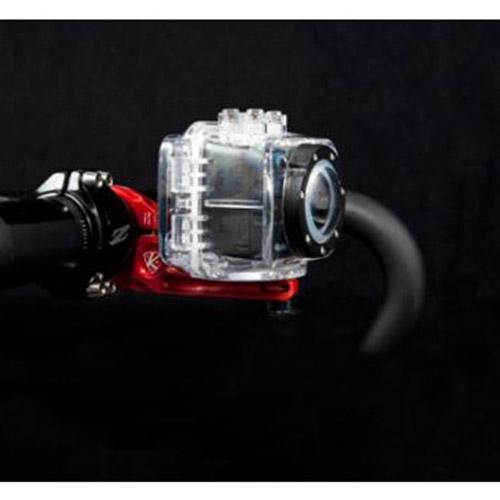 K-Edge Go Big Pro Handlebar Cycle Bike Aluminium Clamp Mount for Camera - Silver