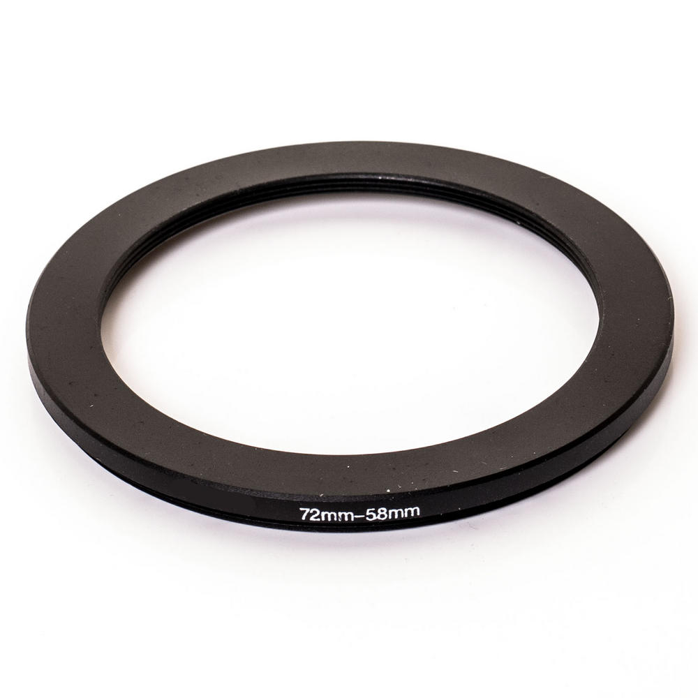 Kood 72mm - 58mm Lens Stepping Step Down Filter Adapter Ring - 72 to 58 mm